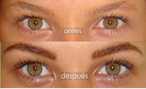 Dermopigmentación en cejas