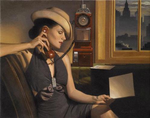 Ретро живопись Peregrine Heathcote-10