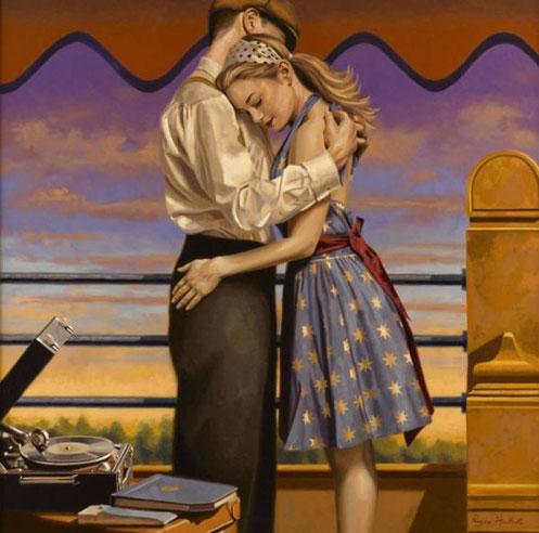 Ретро живопись Peregrine Heathcote-9