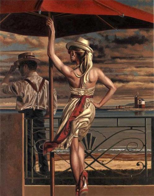 Ретро живопись Peregrine Heathcote-1