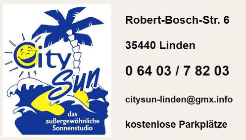 aufs Logo klicken >Link zu CitySun-GOOGLE Seite