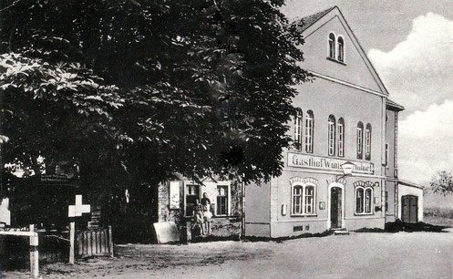 Bild: Wünschendorf Sachsen Gasthof 1933
