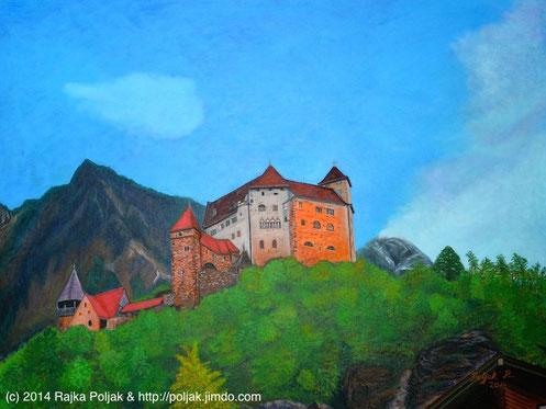 "Rajka Poljak: ""Gutenberg 2"", 2015 (Acryl auf Leinwand)"