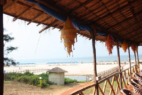 Ashvem Beach in Goa, India