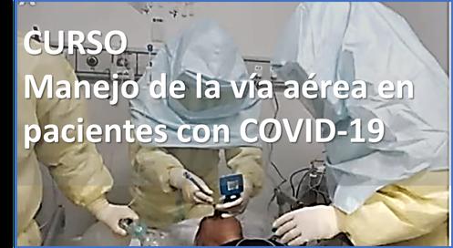 Curso manejo de la via aerea en pacientes con COVID19