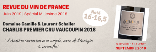 Revue des Vins de France Domaine Schaller Chablis