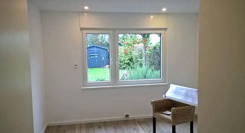 Aufbau der Bodenfläche, Verlegung Parkettboden, Trockenbauarbeiten, Malerarbeiten Bonn