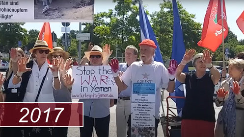 Stop the WAR in Yemen - Friedensaktionen 2017 - Hier klicken!