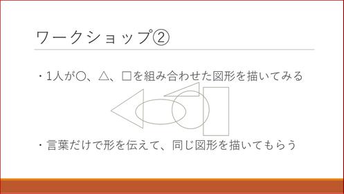 Teach For Japanのプレゼンで使ったワークショップのスライド