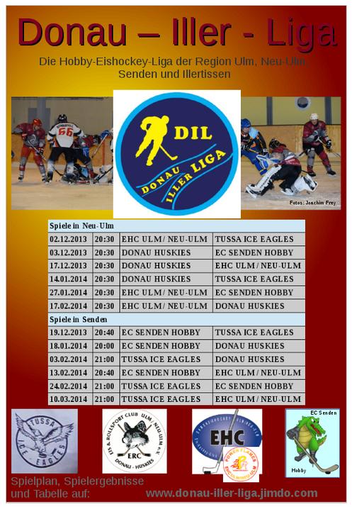 Plakat Donau-Iller-Liga (DIL)