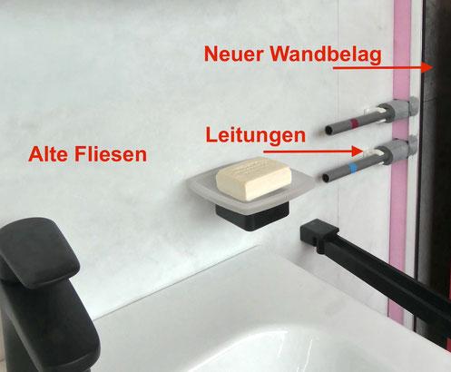 Teilsanierung Bad Reischl Haustechnik