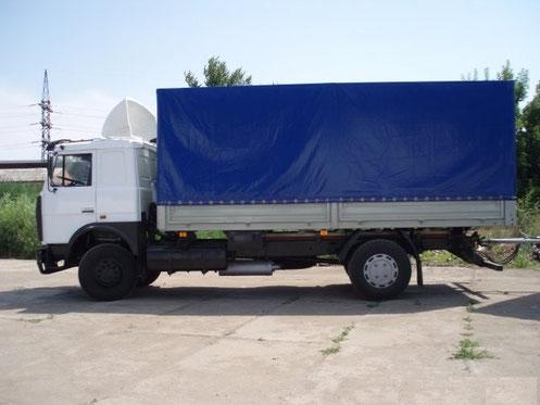 бортовой тентованный грузовой автомобиль в аренду