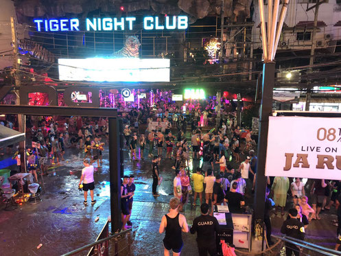 The Water Festival at Bangla Road in Patong, Phuket (Thailand) - Happy Songkran