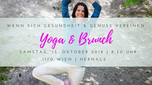 Yoga & Brunch Wien Hernals Oktober 2018