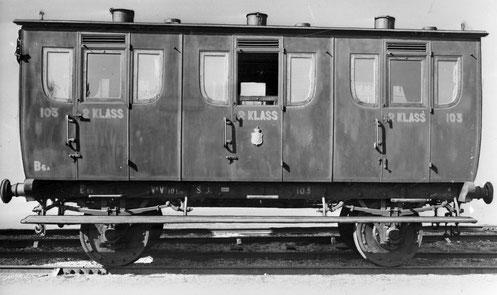 Personenwagen 2. Klasse mit 3 Abteilen Bildquelle: (3)
