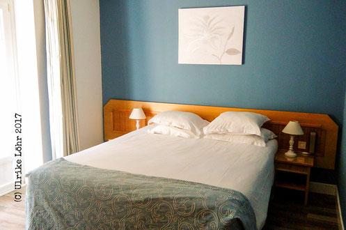 Unser Zimmer im Hôtel Pré Galoffre