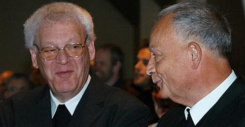 Walter Böcker und Freund Bischof Reinhard Lettmann