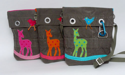 REHform-Taschen kleiner Rehkrut von Sabine Korn