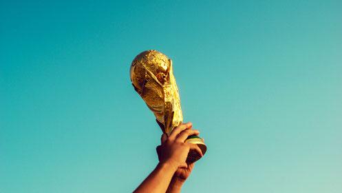 Fussball Football Soccer WM Weltmeisterschaft Tor Goal Pokal Russland