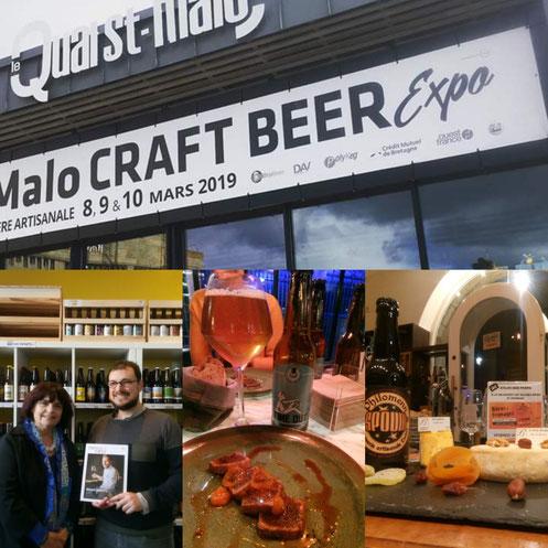bière et gastronomie avec Vlad Antonov, les fromage bordier et Elisabeth Pierre