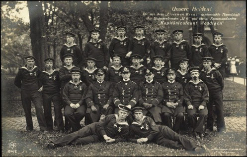Weddigens Crew von U9