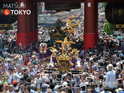 三社祭〈町内神輿連合渡御〉@2017.05.20