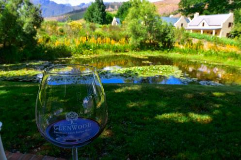 Wine Tasting auf dem wunderschönen und ruhigen Weingut Glenwood