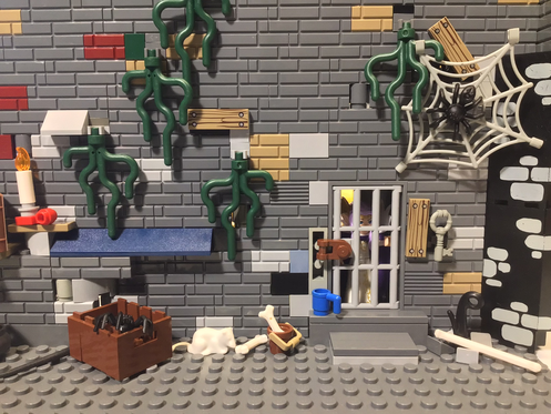 My Virtual Lego Brick Background that I started on last weeks show. What do you create? Feel free to post it on Our Brick Room's Facebookpage.