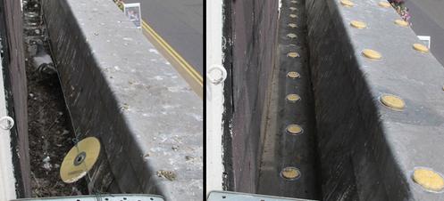 Schutz von Fassaden mit Bird Free: Zustand vor und nach der Installation
