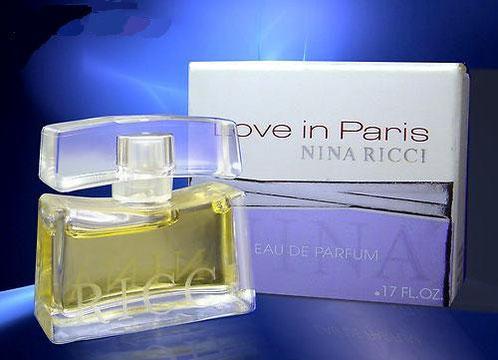 2007 - LOVE IN PARIS - EAU DE PARFUM 5 ML - 1ère BOÎTE