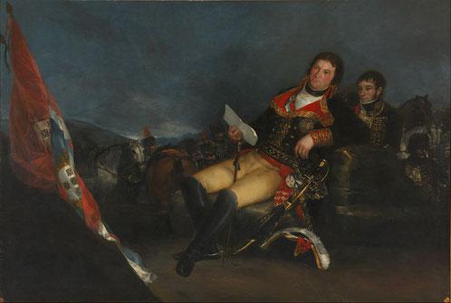 《マヌエル・デ・ゴドイの肖像》1801年