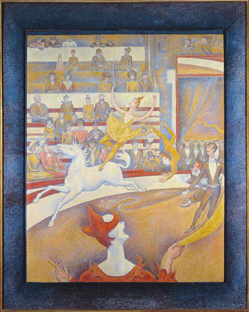 《サーカス》1890-1891年
