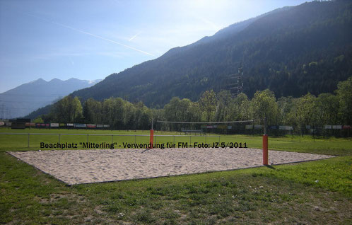 Beachvolleyballplatz Mitterling