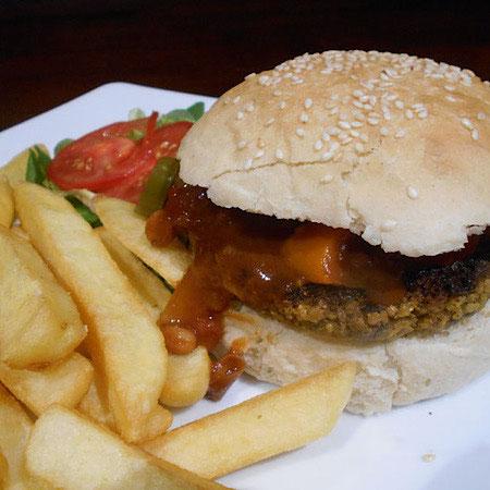 vegan burger the nomadic vegan