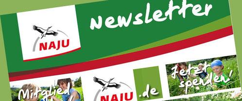 Jetzt bestellen! Der NAJU-Newsletter