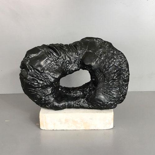 Grès - Email noir - cuisson Gaz