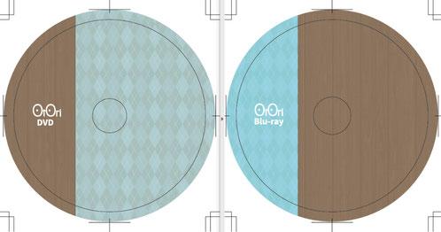 DVD,、Blu-rayのディスク盤面