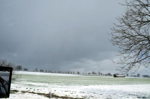 Am 2. April brachen wir wegen Schnee, Blizzards und Hochwasser unsere Osterferien  in Gieselwerder/Weser ab. Innerhalb 2 Tagen stieg der Pegel um 120 cm und überflutete den Campingplatz