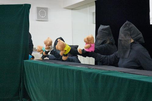 人形劇団の「人形おはなしUFO」は、幼稚園の保護者が集まって何か出し物をしようとしたのがきっかけで誕生しました。