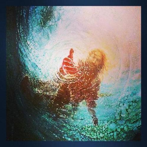 Die rettende Hand Jesu