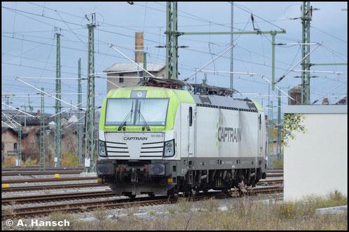 Am 19. November 2017 wartet 193 896-8 in Chemnitz Hbf. auf neue Aufgaben