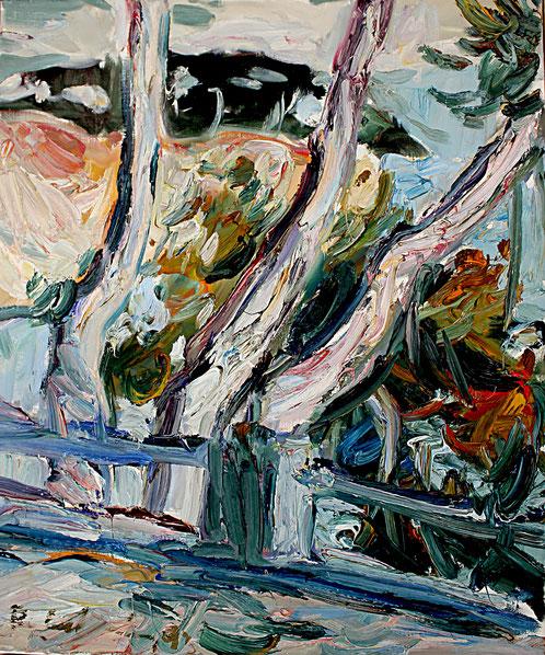 La Ciotat   1993, Öl auf LW, 46 cm x 55 cm