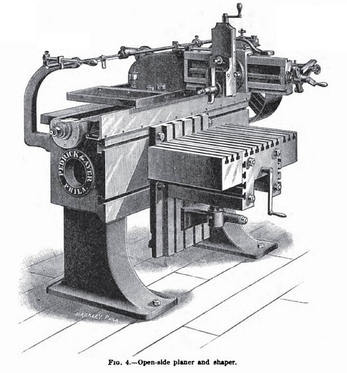 1895 Article-Pedrick & Ayer, Open Side Planer & Shaper