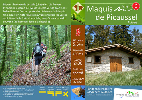 Maquis de Picaussel - Randonnées Pyrénées Audoises