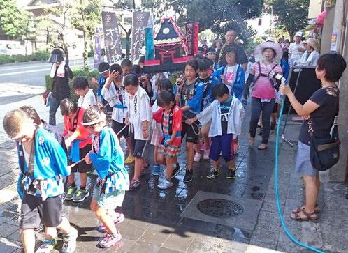 当仁校区 夏祭り 子供みこし