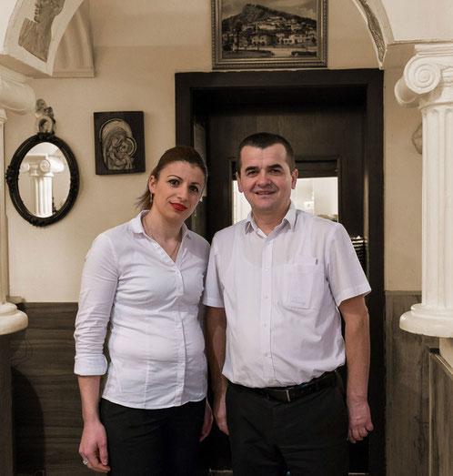 Ihre Gastgeber Vasil und Tila Hommel