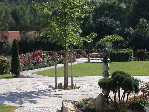 Feng-Shui Garten im Landhausstil,  Gartengestaltung Regensburg-München