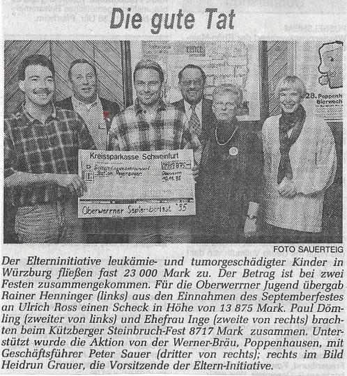 13.11.1995 Schweinfurter Tagblatt