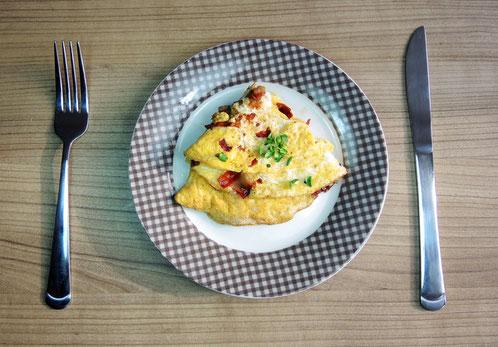 Bacon & Eggs Omelett