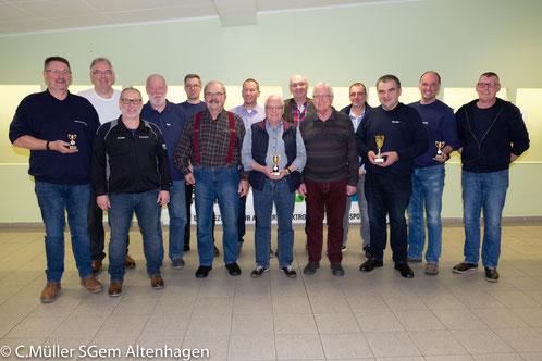Siegermannschaft aus Altencelle mit Carsten Latza (links) und Michael Erler (rechts)